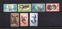 Africa Del Sur   1966-68.-     Y&T  Nº      306/308-309/310-311/312 - África Del Sur (1961-...)