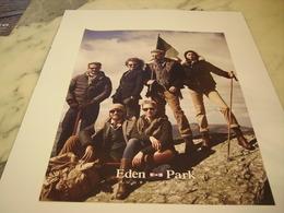 PUBLICITE AFFICHE VETEMENT EDEN PARK - Vintage Clothes & Linen