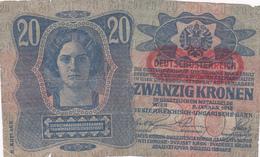 Autriche - Billet De 20 Kronen - 2 Janvier 1913 - Oostenrijk