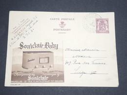 BELGIQUE - Entier Postal Publibel Pour Liège , Oblitération Militaire En 1939 - L 13490 - Stamped Stationery