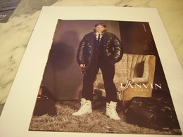 PUBLICITE AFFICHE VETEMENT  LAVIN - Vintage Clothes & Linen