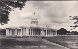 ASIE--SRI LANKA---CEYLON--COLOMBO--the Town Hall--voir 2 Scans - Sri Lanka (Ceylon)