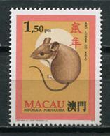Macau 1995 Macao /  Mammals Rat MNH Rata Mamifero Säugetiere / Cu6711  34-3 - Roedores