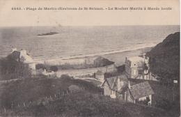 Bl - Cpa Plage De Martin - Environs De Saint Brieuc - Le Rocher Martin à Marée Haute - Saint-Brieuc