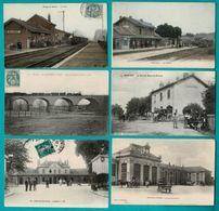 48 CP Avec Trains Blangy/Bresle_ Aumale_Ste Colombe/Seine_3 Sans Trains+Trieuses Charbon,Carte-photo Carnaval,etc N °031 - Postcards