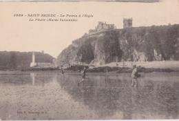 Bl - Cpa SAINT BRIEUC - La Pointe à L'Aigle - Le Phare (Marée Baissante) - Saint-Brieuc