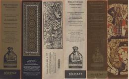 Sélestat Bibliothèque Humaniste Le Lot De 3 Marques Pages - Bookmarks