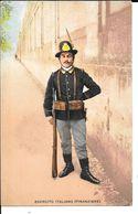"MILITARIA (14/18) CPA ""ARMéE ITALIENNE"" ""POLICE DES FRONTIèRES"" SUPERBE - Guerre 1914-18"