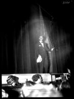 4 Photos Plaques Verre Négatifs Maurice Chevalier En Concert Music-hall Spectacle Cabaret Chanson - Glasdias