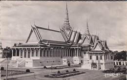 CAMBODGE----PHNOM-PENH---salle Du Trône--voir 2 Scans - Cambodia