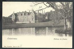 +++ CPA - CHATELINEAU - Château De PRESLES - Nels Série 18 N° 14    // - Châtelet