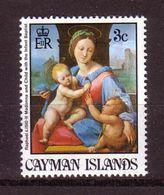 348f * CAYMAN ISLANDS * MADONNA ANDS CHILD * POSTFRISCH **!! - Kaimaninseln