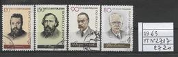 RUSSIE / URSS Année 1963 / YT 2717/2720  OBLITERES Série Complète - Oblitérés