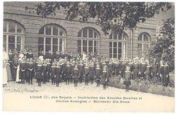 Cpa Lille - Institution Des Sourdes Muettes Et Jeunes Aveugles - Bâtiment Ste-Anne - Lille