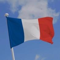 GRAND DRAPEAU FRANÇAIS 150 X 90 CM AVEC ŒILLETS D'ACCROCHAGE NEUF - Flags