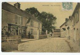 77 Seine Et Marne Recloses Rue Des Canches Postes Facteur 1907 - Other Municipalities