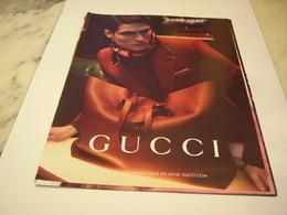 PUBLICITE AFFICHE SAC GUCCI - Vintage Clothes & Linen