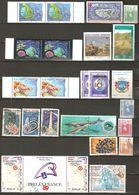 Nouvelle Calédonie Lot  De 48 Timbres Neufs ** Et Oblitérés Plus Qq Enveloppes   - Départ Petit Prix - Stamps