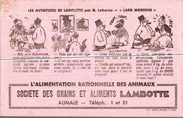 Buvard    L ALIMENTATION  RATIONNELLE DES ANIMAUX  LAMBOTTE - Food