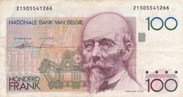 Belgique - Billet De 100 Francs - Hendrick Beyaert - Non Daté - [ 2] 1831-... : Belgian Kingdom