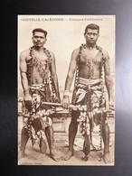 C.P.A. Nouvelle Calédonie Canaques Calédoniens - New Caledonia
