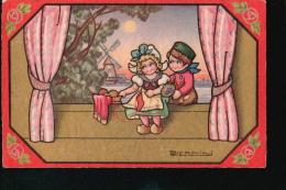 LOT288.....5 CPA ILLUSTRATEURS - Postcards