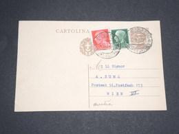 ITALIE - Entier Postal + Complément Pour L 'Autriche En 1930 - L 13507 - 1900-44 Vittorio Emanuele III