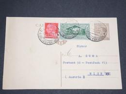 ITALIE - Entier Postal + Complément De Campobasso Pour L 'Autriche En 1930 - L 13509 - 1900-44 Vittorio Emanuele III