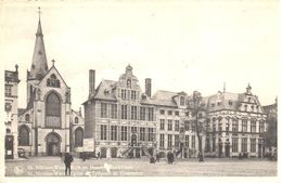 Sint Niklaas - Saint Nicolas Waes - Eglise Et Tribunal De Commerce - Sint-Niklaas