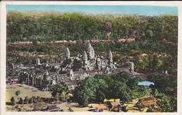 CAMBODGE--vue Générale Du Temple D'angkor-vat---voir 2 Scans - Cambodge