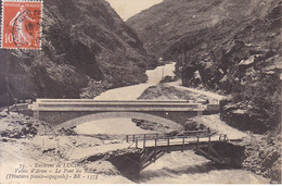 Environs De Luchon Le Pont Du Roi 1913 - Luchon
