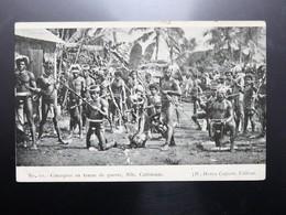 C.P.A. Nouvelle Calédonie Canaques En Tenue De Guerre - New Caledonia
