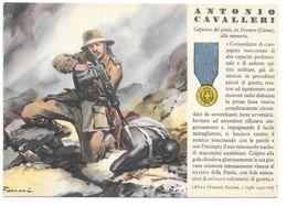 Cpa..italie Médaille De La Guerre Accordée A Antonio Cavalleri .capitaine Du Génie De Dronero...1941..... - Guerre 1939-45