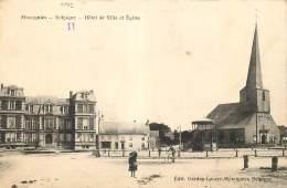 Momignies - Eglise Et L'Hôtel De Ville - Momignies
