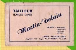 BUVARD & Blotting Paper  :  Tailleur MARTIN DOLAIN  Saint OMER - Textile & Clothing