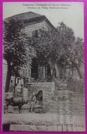 Cpa Capucins Français En Syrie  Fontaine Village Baabdath Liban Rare Carte Postale  Baabdat Jall Eddib Lebanon Syria - Syrie
