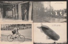 Lot De 100 Cartes Postales Anciennes Diverses Variées - Très Très Bon Pour Un Revendeur Réf, 145 - 100 - 499 Postcards