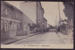 SARTROUVILLE Rue Voltaire - Sartrouville