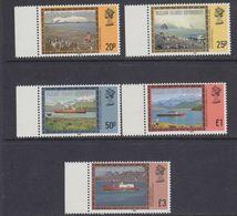 "Falkland Islands Dependencies 1985  Pictorials Imprint Date ""1985"" 5v (+margin)  ** Mnh (37706) - Zuid-Georgia"