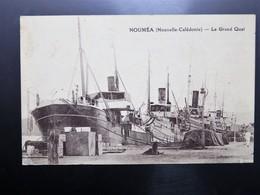 """C.P.A. Nouvelle Calédonie NOUMEA Le Grand Quai, Bateau """"PENELOPE"""" - New Caledonia"""