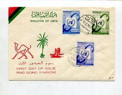 Libyen / 1958 / Mi. 79-81 FDC (03270) - Libya