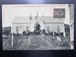 C.P.A. Nouvelle Calédonie NOUMEA Le Temple Protestant, Timbre - New Caledonia