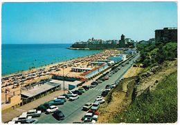 V1887 Termoli (Campobasso) - Panorama Del Lungomare E Della Spiaggia - Auto Cars Voitures / Viaggiata 1972 - Altre Città