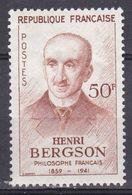 France 1959 YT 1225 Centenaire De La Naissance Du Philosophe Henri Bergson  N* MH - France