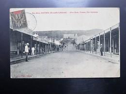 C.P.A. Nouvelle Calédonie NOUMEA Rue Alma, Magasin S. Keylar Tailor, Animé,  Timbre 1909 - New Caledonia