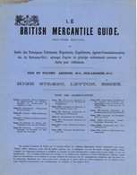 LEYTON ESSEX  BRITISH MERCANTILE GUIDE  _é éditiondes Principaux Fabricants   * Z74 - United Kingdom