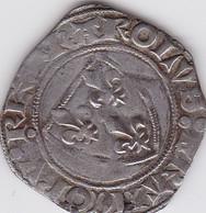 FRANCE / BLANC GUENAR - CHARLES VI - Atelier De TOURNAI - 987-1789 Monnaies Royales