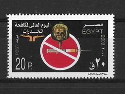 EGYPT 2000/1 ANTI DRUGS - Drugs