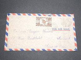 NOUVELLE CALÉDONIE - Enveloppe De Nouméa Pour La France En 1947 - L 13528 - Nueva Caledonia