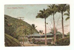 CT--02318--  PANAMA - ANCON HOSPITAL - VIAGGIATA 1908 DA PANAMA A TORINO- FRANCOBOLLO ASPORTATO - Panama
